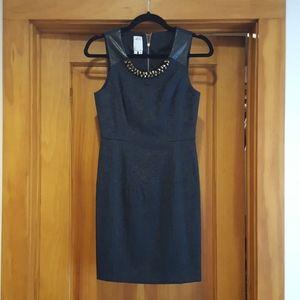 Ali Ro Navy Sheath Dress